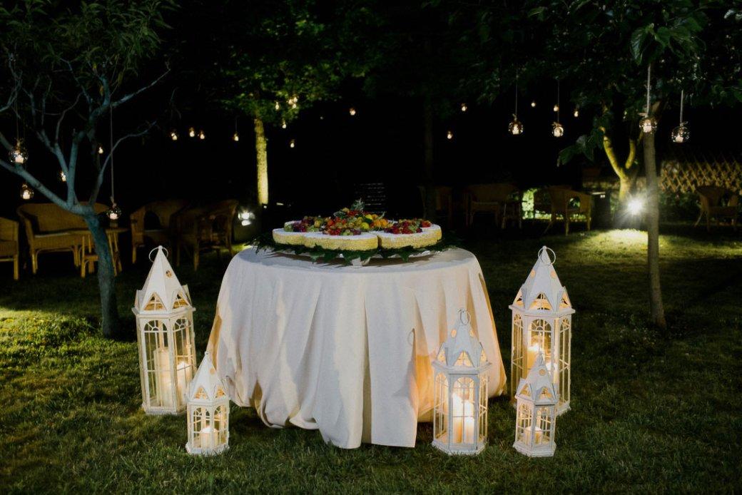 torta nuziale per un matrimonio Boho Chic